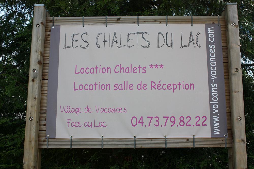 Camping chalet du lac Aydat 63 Puy de Dôme Auvergne