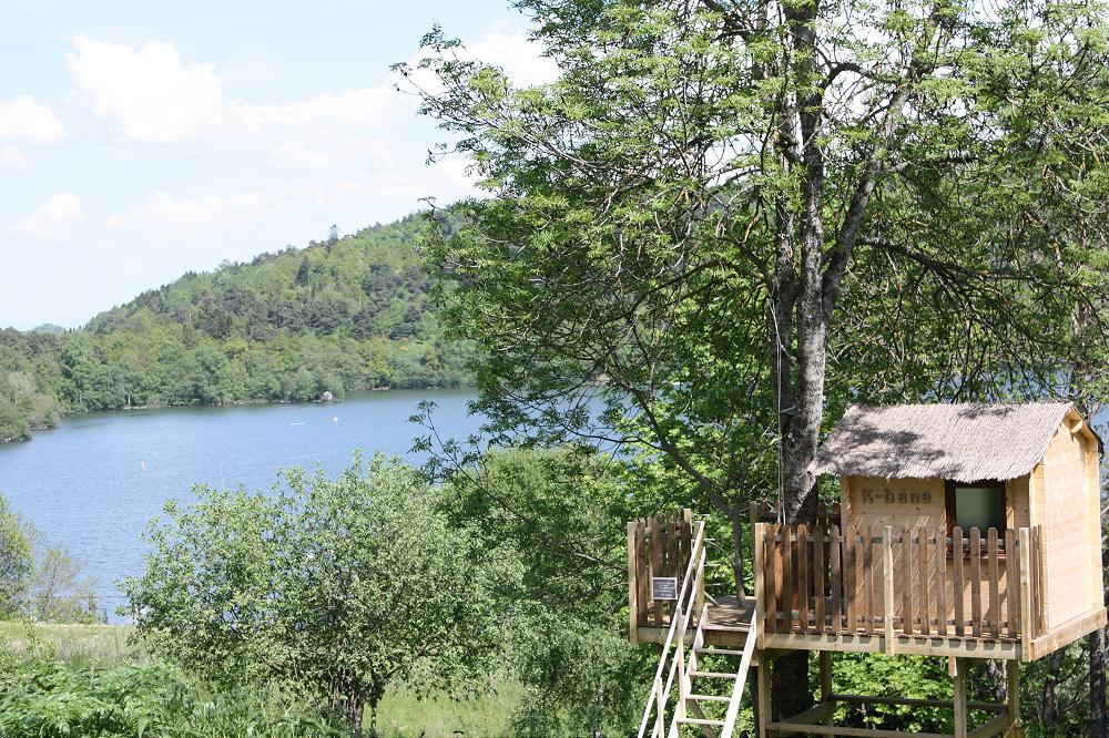Camping lac d Aydat 63 puy de dôme Auvergne