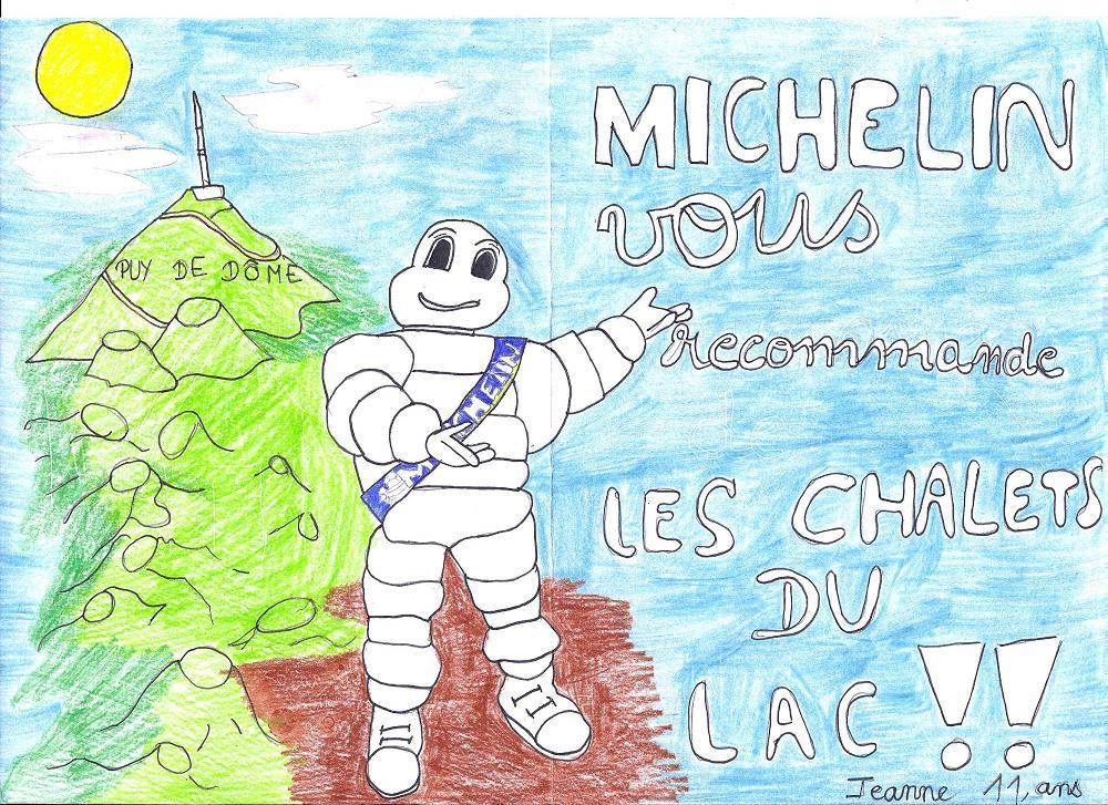 dessins de nos petits vacanciers pendant leur séjour en location gîte Puy de Dôme