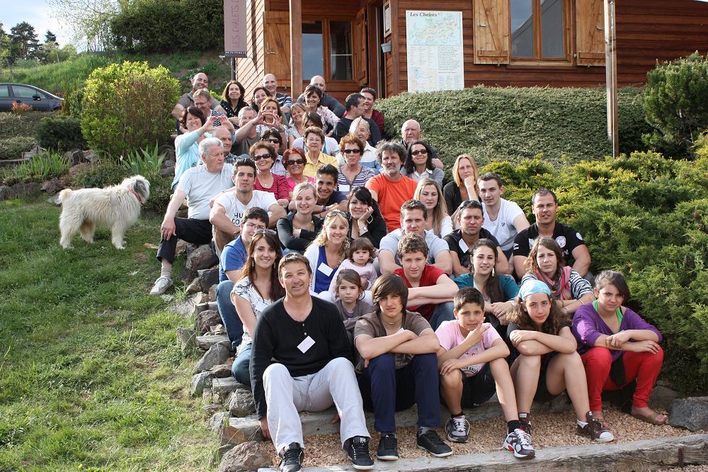 location grand gîte de groupe en Auvergne
