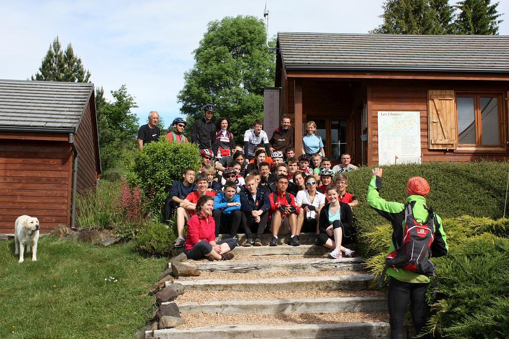 Dans le Puy de Dôme Grand Gîte de 15 a 70 personnes en Auvergne 63
